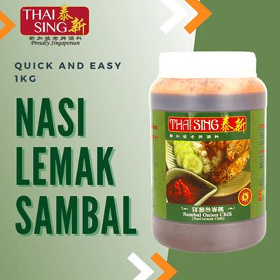 Nasi Lemak Sambal Chilli - 1kg
