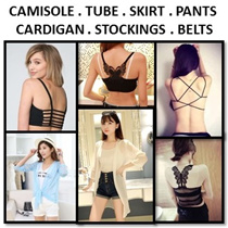 [ORTE]Crazy Grp Sale $3.50★Tubes★Camisole★Bra★Shorts★Cardigan★Skirts★ Sports Bra★Fast Delivery★