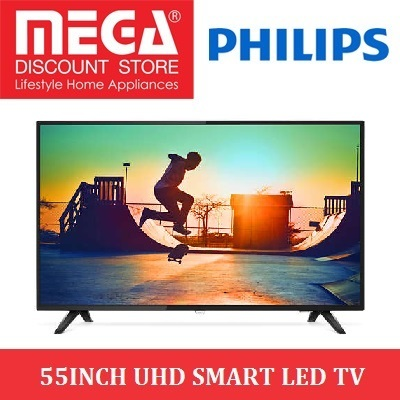 PHILIPS 55PUT6103 55INCH UHD SLIM SMART LED TV / LOCAL WARRANTY