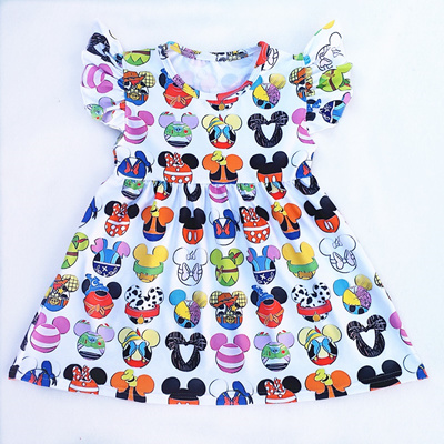 00df406e3 Qoo10 - sale 2018 Hot Selling Baby Girls Dresses Summer Clothes Cute ...