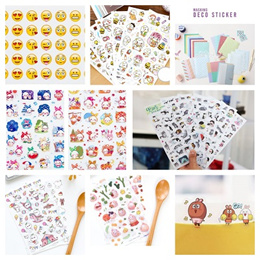 Korean diary Stickers Sticker Animal Korean Stickers Lomo Masking Stamp Scrapbook Card