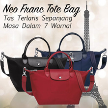 FREE SHIPPING!*NEW Collection*Neo De Franc ToteBag •Latest Design•tas Favorite sepanjang masa^