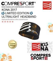 Compressport KONA Limited Edition Ultralight Headband White/Black. FREE SHIPPING!!!