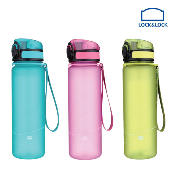 LOCKNLOCK Water Bottle One Touch 600ML Deals for only Rp100.000 instead of Rp100.000