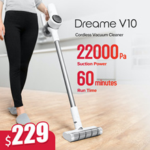 Xiaomi DREAME V10 // V11 Cordless Vacuum Cleaner   Strong Suction Power   Long Battery Life