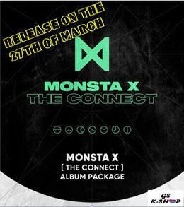 MONSTA X - THE CONNECT : DEJAVU [VER SELECT]