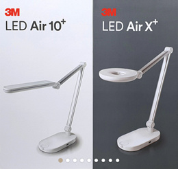 👍10%CP◀3M KOREA▶ LED Air 10 X+ /Desk Light/ STAND/ TABLE/ LED/ 7STEP Brightness control