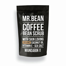 (Mr Bean Body Care) Mr. Bean Organic All Natural Coffee Bean Exfoliating Body Skin Scrub with Coc...