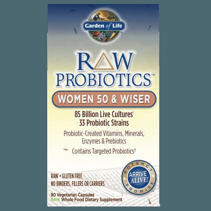 Qoo10 Garden Of Life Raw Probiotics Women 50 And Wiser 85 Billion 90 V Health Medical