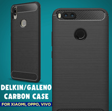 Delkin Galeno Carbon Case for Xiaomi Oppo Vivo