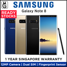 Samsung Galaxy Note 8 / 6.3 Inch / 12MP Camera / 6GB RAM / 64GB ROM / Local Samsung 1 Year Warranty