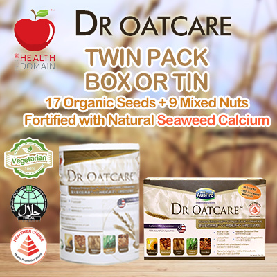 [LOWEST IN SG] Bundle of 2! TIN / BOX Dr OatCare Super Health Drink Deals for only S$76 instead of S$0