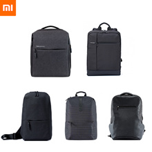 [Xiaomi] genuine 100% business / backpack / city / campus / cross free shipping