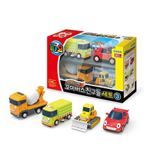 The Little Bus TAYO Special Mini FRIENDS Toy Set No.3 ( Ruby Chris Speed Billy )