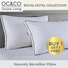 1+1 Royal Hotel Collection Heavenly Microfiber Pillow