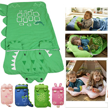 Animal Baby Sleeping Bag For Children  140*60 Keep Warm Prevention Kicking Quilt Cotton