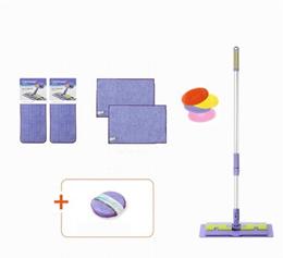 Catchmop Best Item Floor Mop 1 +Pad 2+ Versatile Hand Mop 2+ Silicon Brush+Circular cleaner+Scrubber