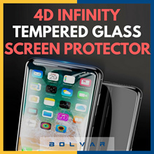 ✪ 4D Infinity Tempered Glass ✪ iPhone X/8/7 ✪ Privacy / Matte / Normal ✪ Clear / Anti-Blue Light ✪