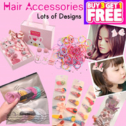 Korean Hair Accessories / Hair Clips / Hair Pins / Hair Ties Rubber Bands
