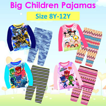 ★Mamas Luv★15/08 New Arrival Kid Pajamas big size for boy and girl 8y-12y