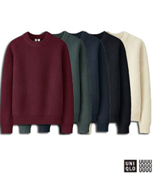 ★ UNIQLO OUTDOOR PRODUCTS ★ Uniqlo U REMLER Ramsoul Lip Crew Neck Sweater UNIQLO Yum Bong Tae Kyu Knit