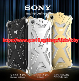 ∽ For Sony Xperia Z5 Phone Case Simon Thor Serie Aviation Aluminum Metal Frame Protection Cover