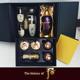 Korean Cosmetics ♥ The Golden Fishery [the history of Whoo] EMS shipping] LG life health after Whoo- fan Yu cream planning set / Fan Yu essence planning set / eye cream planning set /  LG care