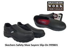 Skechers Safety Shoe Sayern Slip-On 999801-Black