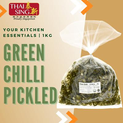 Pickled Green Chilli - 1kg