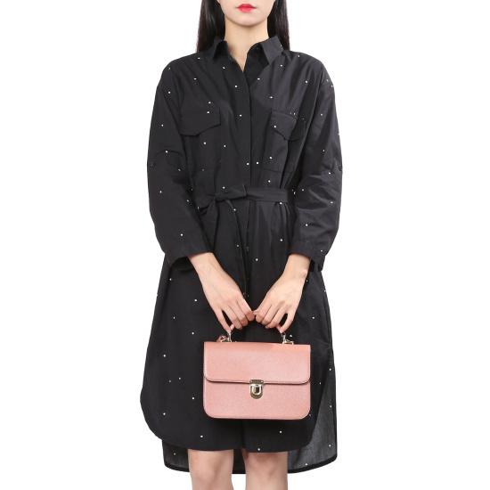 ラブLAPリンネン・ドットワンピースAH7XXW72 面ワンピース/ 韓国ファッション