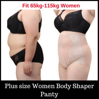 9513c496b3e Plus Size Women Panties Body Shaper Beauty High Waist Girdle Pants  Breathable Sexy Underwear