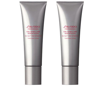 shiseido hair styling products qoo10 shiseido adenovital scalp treatment 130g x 2 8323