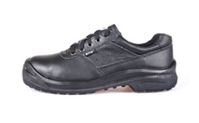 KPR Safety Shoes Black-L083(low cut 4 Eyelets lace up)  *FREE SHIPPING BY QXPRESS*