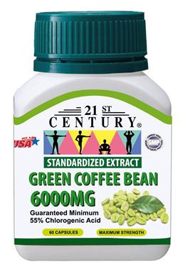 U.P. $38.50 21st Century Green Coffee Bean 6000MG