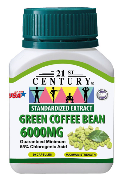 Solhome U P 38 50 21st Century Green Coffee Bean 6000mg