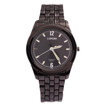 LONGBO 8328 Men's Quartz Watch Famous Waterproof Business Steel Band Wrist Watch