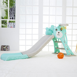 [ABG-HUB] Foldable Children Toddler Junior Activity Baby Slide Gym Fordable Pink Blue Green