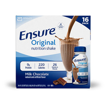 Ensure Original Nutrition Shake Milk Chocolate Flavor 237ml x 16 Pack