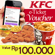KFC VOUCHER VALUE Rp 100.000