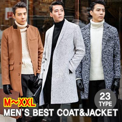 2080385a111 ☆KOR DANGOON Mens Best Style Winter Coat   Mens jacket   Wool Coat