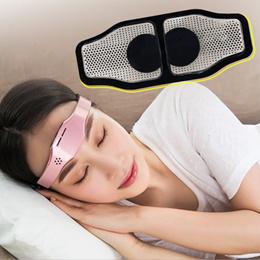 电动头部睡眠仪改善失眠针灸助眠器无线充电催眠仪头部按摩仪