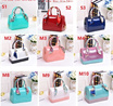 Candy Color Ladies Jelly Handbag in Multi Colors