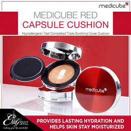 NEW ★MEDICUBE★ Red Capsule Cushion / Medicube Red Concealer