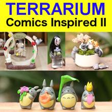 Comics Inspired II ✤ Totoro Set ✤ Christmas Totoro ✤ CNY Totoro ✤ Fortune Cat ✤ Adorable 7-Cat Set