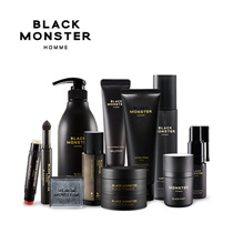 [ Black Monster ] ❤ Black Puff ❤ Black Balm ❤ All - In One Day and Night ❤ Black Scrubber ❤