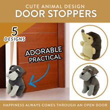 Door Stopper / Cute Animal Design  - 5 DESIGNS AVAILABLE