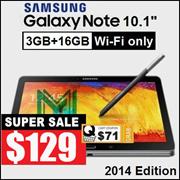 Samsung Galaxy Note 10.1 / 2014 Edition / Snapdragon 800 / 3GB RAM / 16GB 32GB ROM