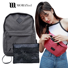 [Morayeel] Men Backpack - Waist bag - Fanny Pack - Clutch