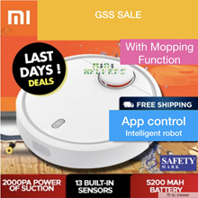 2018 Latest Model ★ Xiaomi Mi Robot Vacuum Cleaner★ 5200mAh Battery★Apps Control Local Seller