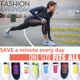 [3 Free 1] 🌈No Tie Shoelaces for Kids Adults🌈 Silicone Shoelace Waterproof Running shoes